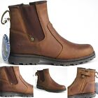 Childrens Boys Girls Timberland CHELSEA distressed Leather Boots Shoes Size 12 M