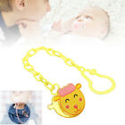 Cartoon Baby Dummy Pacifier Soother Nipple Chain Clip Buckle Dummy Holder New ZQ