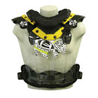 HRP Flak Jak LT IMS Yellow MX Enduro Offroad Riding Chest Guard Roost Protector