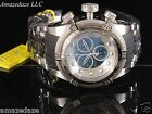 NEW Invicta Mens Reserve Bolt Zeus Swiss ETA Chronograph Stainless Steel Watch !