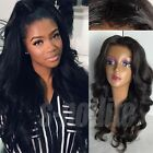 100% 8A Grade Indian Human Hair Wig Silk Top Full Lace/Lace Front Wig Straight s