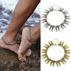 Women Silver Gold Anklet Chain Ankle Bracelet Barefoot Sandal Beach Foot Jewelry