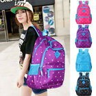 Oxford Fabric School Bag Travel Backpack Satchel Rucksack for Women Girl Kids