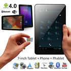 New ! Cheap! 7'' Dual Cam Smartphone Android 6.0 3g Gsm Wifi Tablet Pc Phablet