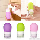 Newest Empty Silicone Packing Bottle Press Bottle Lotion Shampoo Bath