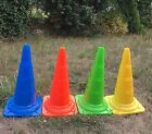 4pcs 52cm High Sports Soccer Fitness Training Cone Traffic Safety Sign Marker
