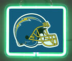 San Diego Chargers Helmet 1974 - 1987 Brand New Neon Light Sign $43.98 USD