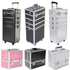 Panana Large Makeup Vanity Case Cosmetics Nail Hairdressing Box Beauty Trolley