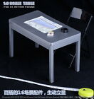 New 1/6 Scale Furniture Table Desk Chair Stand for 12 inch Action Figure Solider