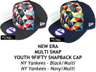 NEW ERA MLB MULTI SNAP YOUTH 9FIFTY SNAPBACK CAP - NY YANKEES (Black or Navy)