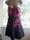 LADIES JANE NORMAN STUNNING STRAPLESS EVENING / PROM / PARTY DRESS SIZE 14