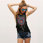 Fashion Women Summer Vest Top Sleeveless Blouse Casual Tank Tops T-Shirt NEW