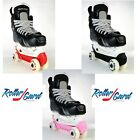 New RollerGard Rolling Ice Hockey Skate Guards OSFA Red Black or Pink
