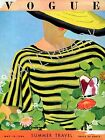 Vogue May 1934 Vintage Artwork Poster Fashion Style Cover - 4 sizes available