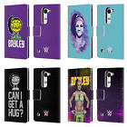 OFFICIAL WWE BAYLEY LEATHER BOOK WALLET CASE COVER FOR LG PHONES 2