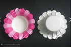 50pc large floral cupcake liners baking paper cup muffin case no pan need pink