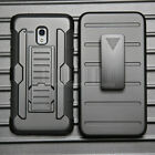 Hybrid Shockproof Rugged Case Armor KickStand Hard Belt Clip Holster Phone Cover