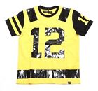 HUDSON NAMATH FOOTBALL JERSEY 5848-YEL YELLOW (MSRP $59)