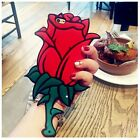 3D Rose For iPhone 5 5s 6S 7 Plus Animals Soft Silicone Case Cover Back Skin