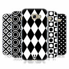 HEAD CASE DESIGNS BLACK AND WHITE PATTERNS GEL CASE FOR SAMSUNG GALAXY A5 (2017)