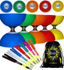 CYCLONE CLASSIC Triple Ball Bearing Diabolo Set + Fibre Diablo Hand Sticks + Bag