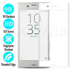 3D Full Cover Screen Protector Tempered Glass For Sony Xperia XZ XZ1 XZ2 XA1 XA2