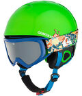 Quiksilver Game Pack Snow Helmet w/ Goggles Kid's