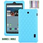 Barnes & Noble Nook Tablet 7 inch Anti Slip Protective Soft Silicone Case Cover