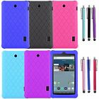 Anti Slip Protective Soft Silicone Case For Amazon Fire HD/Samsung Galaxy Tablet