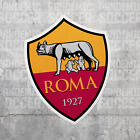 AS Roma Italy Vinyl Sticker Decal Calcio Football Serie A Giallorossi Lupi Totti