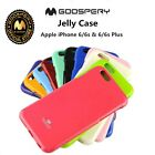 Mercury Goospery Jelly Case Skin Cover For iPhone 6 Plus, 6s Plus and 7 Plus
