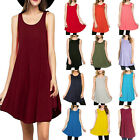 NEW Women's Sleeveless Casual Evening Party Cocktail Club Short Mini Dress