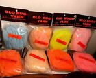 Vintage Glo Bugs Yarn 15 Feet Choice of Color ( 1 Pack)