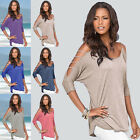 Fashion Women Casual Blouse Summer Casual Loose Long Sleeve Blouse Tops T-shirt