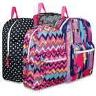 "17"" Girls School Backpacks Backpack Bag New - 4 Designs"