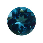 Natural Fine Vivid London Blue Topaz - Round - Sri Lanka ...