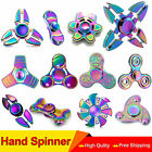 Rainbow Alloy Figet Spinner Hand Toy Spinner EDC Fidget Spinner Autism ADHD CA
