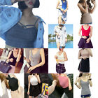 New Women's Club Tank Tops Bustier Bra Tube Crop Top Bralette Blouse Shirt Party