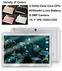 10 Inch HD Tablet 4G Lte Octa Core 4GB RAM 64GB ROM 8.0MP Android 6.0 GPS COLORS
