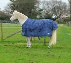 Clearance 7ft | Rhinegold Lightweight Turnout Rug inner Fleece Lined |  RRP £43