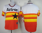 Houston Astros Cooperstown Rainbow Blank Baseball Jersey Men Throwback STITCHED фото