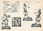 1978 Mickey Mouse Retro Phone Patent Art Poster Room Decor Gifts Walt Disney