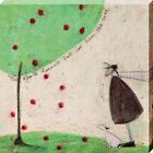 Sam Toft Leinwanddruck The Apple Doesn't Fall Far From The Tree 40 x 40 cm