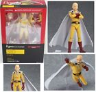 New AUTHENTIC Max Factory figma 310 One Punch Man Saitama Figure