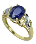 Blue Sapphire 3.66 Ct. Exotic Ring 925 Sterling Silver Awesome Lady Gift Jewelry