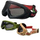 Nuprol Airsoft Large Pro Mesh Pmc Safety Goggles Foam Padding Elasticated Strap