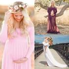 Pregnant Women Maternity Dress Gown Photo Prop Photoshoot wi