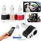 Cigarette Lighter Bluetooth 4.1 FM Transmitter with Dual USB 2.1A Fast Charger
