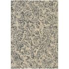 Couristan Easton Prescott Ivory  Black  Grey Rug