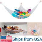 Kids Pet Toys Hanging Hammock Net Organizer Corner Stuffed Animals Storage Bag